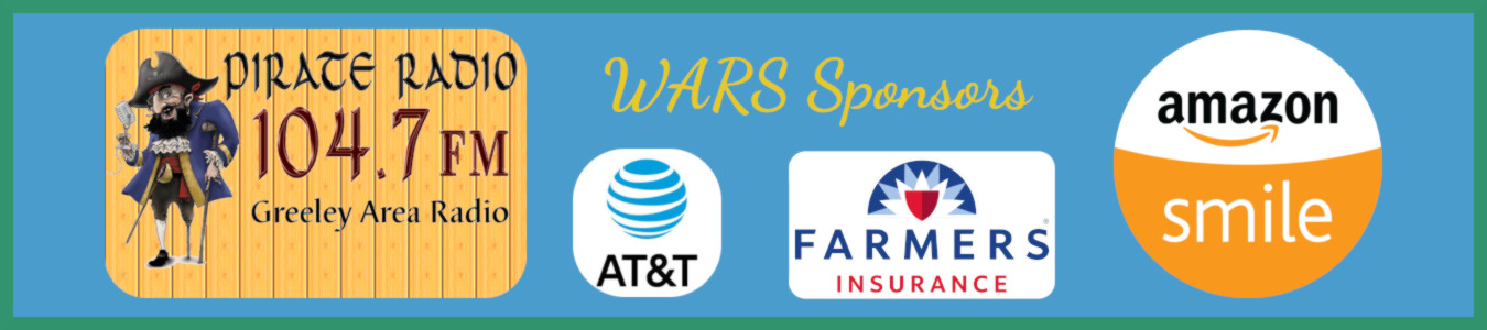 WARS Sponsors include Pirate Radio, AT&T, and Farmers Insurance